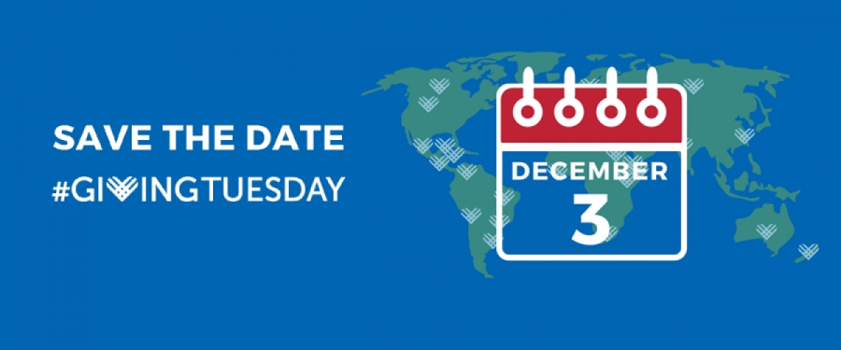 Today c'est le Giving Tuesday !